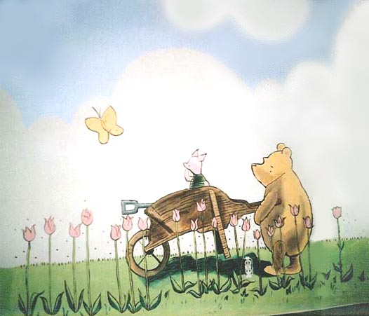1000 images about classic pooh on pinterest winnie the for Classic winnie the pooh mural